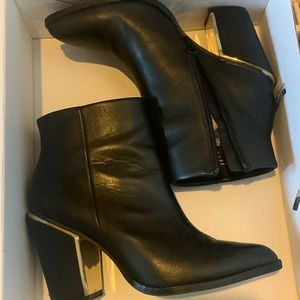 Aldo Ankle Faux Leather Boots